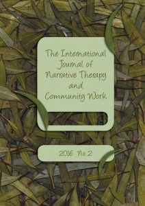 International Journal of Narrative Therapy and Vommunity Work
